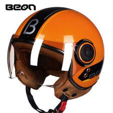 BEON New110B Unisex Motocross Half Face Helmet Scooter Retro Motorcycle Helmets