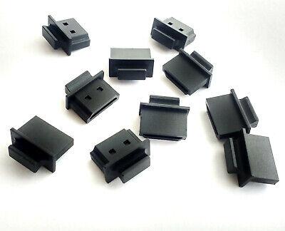 4x Schutzabdeckung HDMI Buchse Cover Schutz-Kappe Deckel Stöpsel schwarz