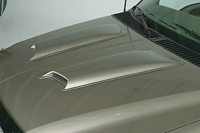 Ford Explorer Sport Trac 2001 - 2005 PAINTED Hood Scoops  2pc Smooth