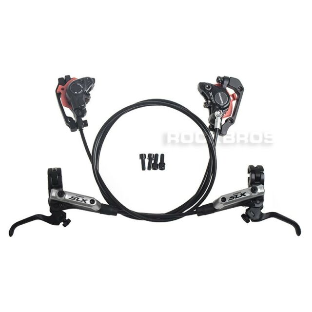 SHIMANO SLX BR-M675 BL-M675 Hydraulic Brake Set Front and Rear Black