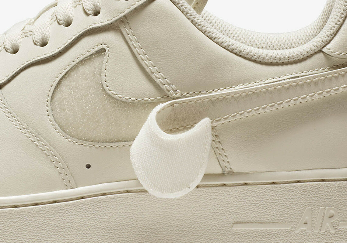 nike all air force 1 niedrige all nike - star - swoosh pack weißer pastell segeln ah8462-101 9,5 94afd9