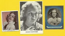 Joan Crawford Fab Card Collection Oscar Winning Television Stage Movie Actress A