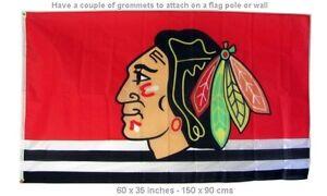 Chicago Blackhawks 3x5 ft Flag NHL