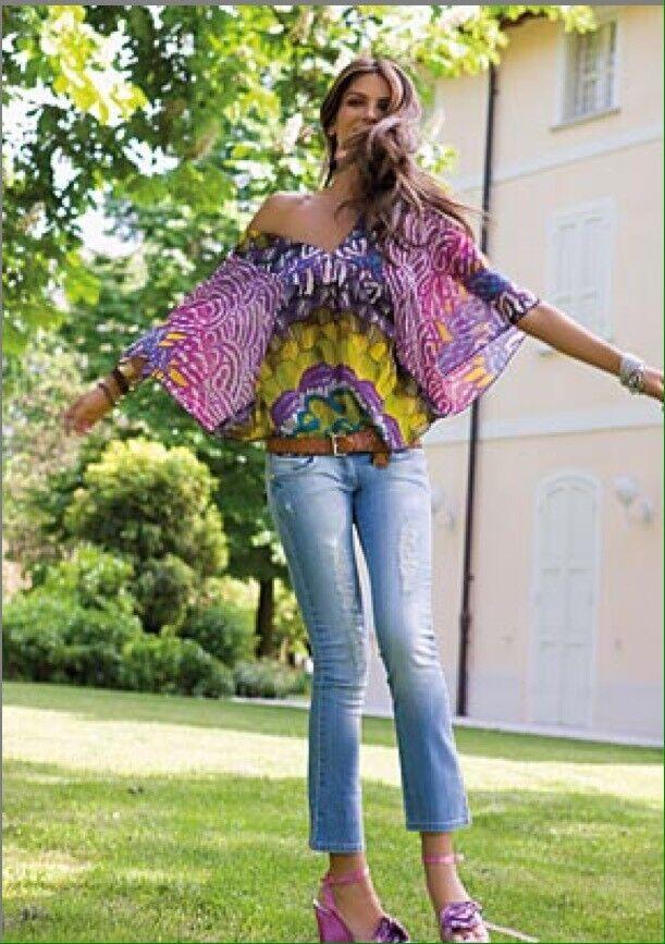 DENNY Rosa BlauSA camicia art. 7590 rarissima introvabile