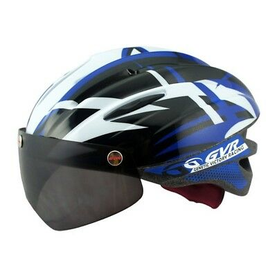 Taiwan GVR G-203V Cycling Helmet With Magnetic Visor Bubble Black Free Shipping