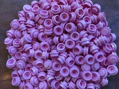 LEGO Parts Bright Pink Plate Round 1 x 1 No 4073 QTY 20