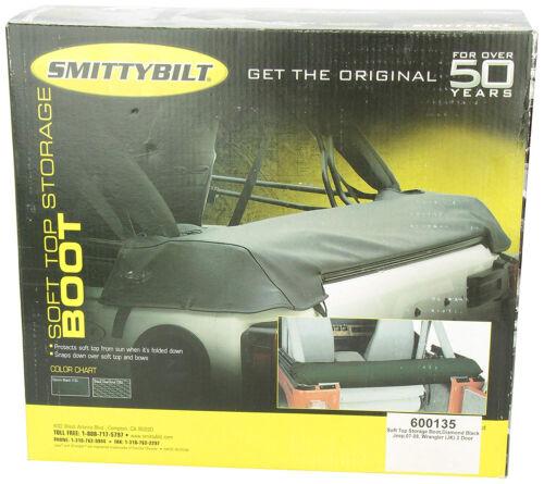 Smittybilt 600135 Soft Top Storage Boot for 2007-2018 Jeep Wrangler JK 2-Door