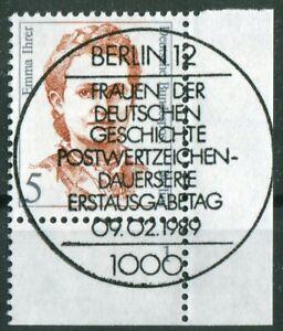 Berlin-833-Formnummer-Frauen-5-Pf-gestempelt-Vollstempel-ESST-Berlin12-Eckrand