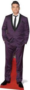 Sc-589-cs Robbie Williams Hauteur 185cm Présentoir Carton De Cinéma