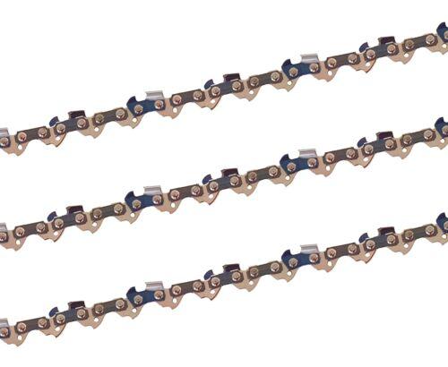 3 X gardexx Sägekette für Hecht 962 Ersatzkette Kette