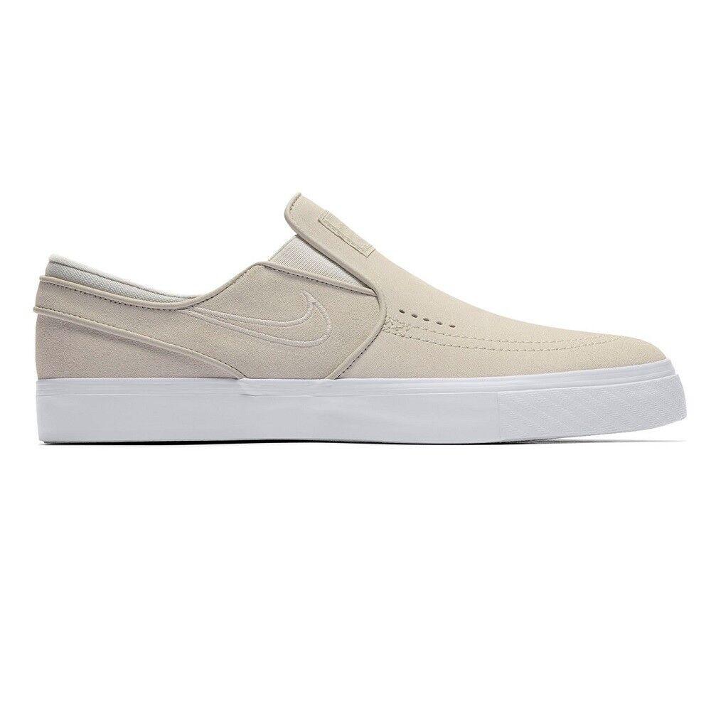 Great discount Nike 833564 Zoom Stefan Janoski Slip 100 White Light Bone White UK10