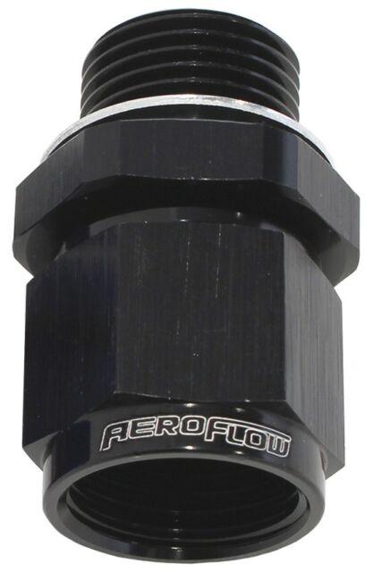 Aeroflow AF906-08-M18BLK M18 X 1.5 To -8 Female Swivel Black Washer Seal