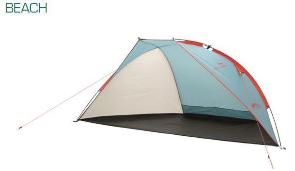 Easy Camp Strandmuschel Beach Shelter Strandzelt Sonnenschutz 50+ leicht winddic