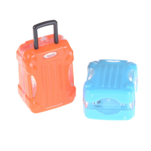 Dollhouse Travel Accessories Doll Suitcase Trunk Girl Gift Toy ES