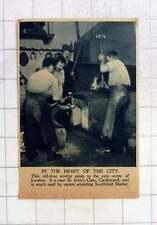 1919 Old-time Blacksmith, St John's Gate Clerkenwell Smithfield Market Carters