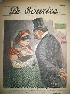 LE-SOURIRE-JOURNAL-HUMORISTIQUE-N-72-DESSINS-HUARD-JO-THOMEN-HUARD-ROUBILLE-1901