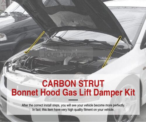 Carbon Bonnet Hood Gas Strut Lift Damper Kit for HYUNDAI 2005-2009 Tucson