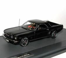 MATRIX Scale Models, 1966 Ford Mustang Mustero Pick-Up, black, 1/43