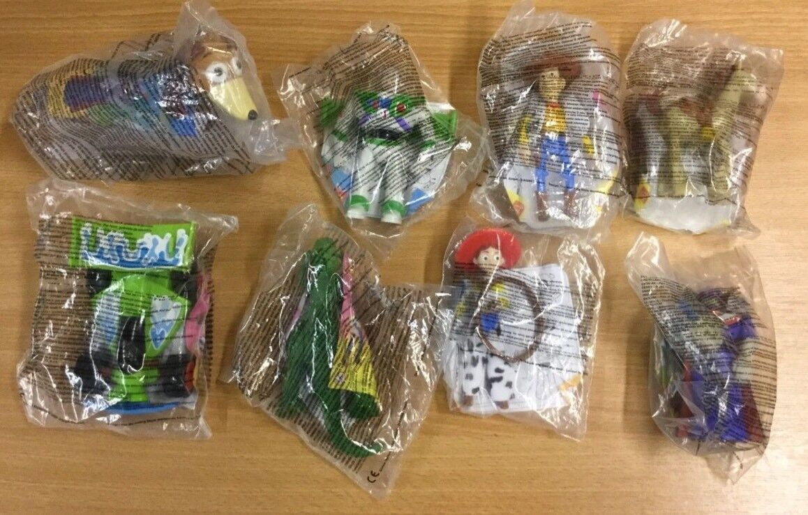 McDonalds Happy Meal Toy -TOY STORY 2 (2000) - Full Set new in bags