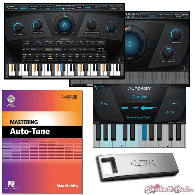 Antares Auto Tune Pro + iLok 3 Pitch Correction - Audio Editing Software Plugin