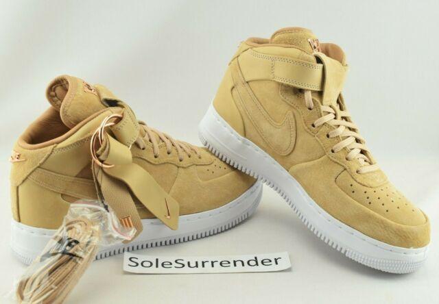 sports shoes d0020 b9764 Nike x Victor Cruz Air Force 1 Mid - CHOOSE SIZE - AO9298-200 Vachetta Tan  Wheat