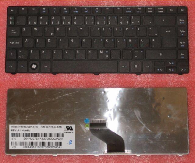CLAVIER QWERTY NORDIQUE Acer Aspire 3820T, 3820TG, 4251, 4551 KB.I140A.218