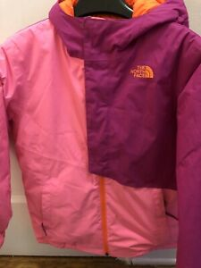 The-North-Face-Girls-Ski-Jacket-Size-14-16-Pink