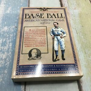 Baseball America's National Game 1839-1915 by Albert Spalding - Paperback