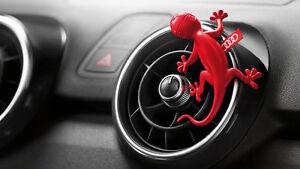 Original Audi Gecko Air Dispenser Scenter Red for Luftausstroemer 000087009B