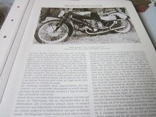 Motorrad Archiv Rennmodelle 2137 Gilera Rondine 500 ccm Kompressor 4 Zyl. quer