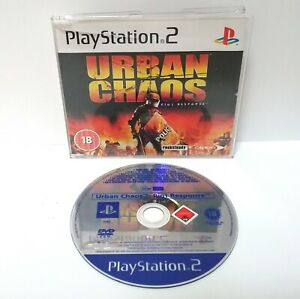 Urban-Chaos-Riot-Response-Promo-Copy-Playstation-2-ps2-Full-Game-sehr-gut