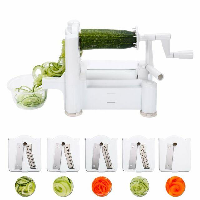 5in1 Cucumber Carrot Potato Slicer Peeler Grater Fruit Vegetable Cutter  YN