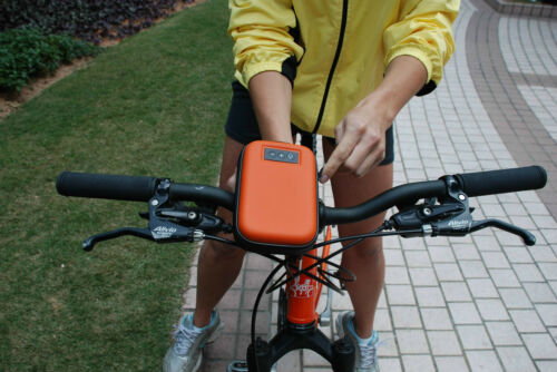 LAVOD BIKEMAN PHONE// MP3 SOUNDBAG// SPEAKER FOR BICYCLE /'RIDE WITH MUSIC/'// NEW