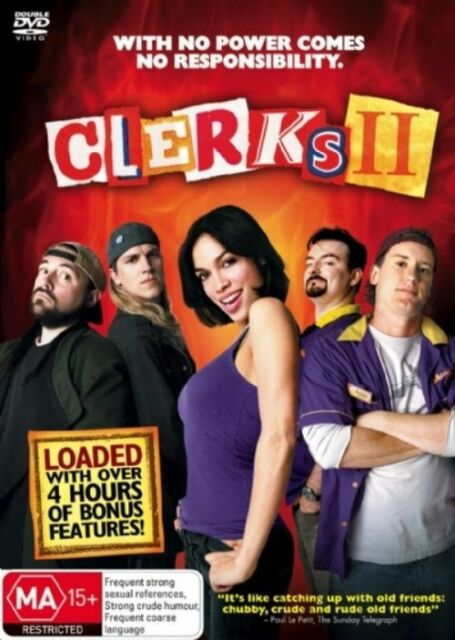 Clerks 2 DVD, 2 Disc Set (2007-R4) With Free Shipping
