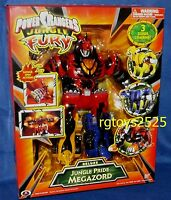 Power Rangers Jungle Fury Deluxe Jungle Pride Megazord Factory Sealed 2007