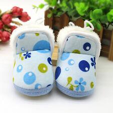 US Winter Toddler Newborn Baby Girls Bowknot Soft Sole Boots Prewalker Shoes 13