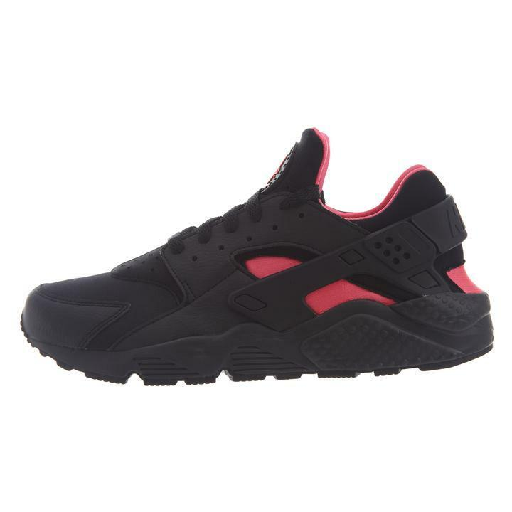 Air Nike Huarache Black Solar Red Black