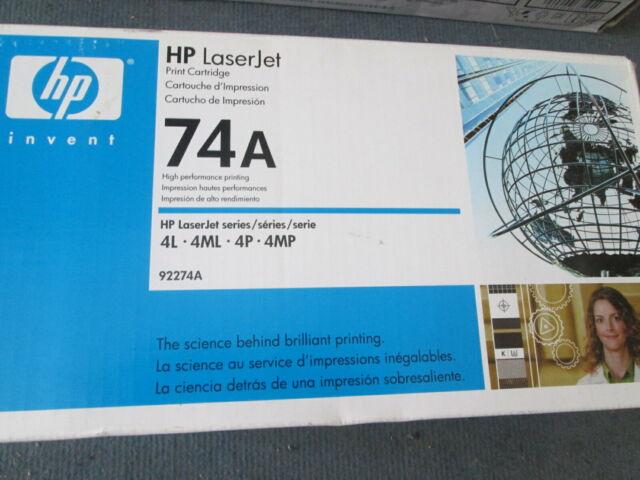Genuine HEWLETT PACKARD HP 92774A 4L 4ML 4P 4MP