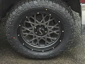 Fuel Truck Wheels >> 20 Vision 412 Rocker Fuel At 305 55r20 Wheel And Tire Package Dodge
