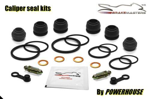 Honda GL1200 A Goldwing Aspencade front brake caliper seal rebuild kit set 1987
