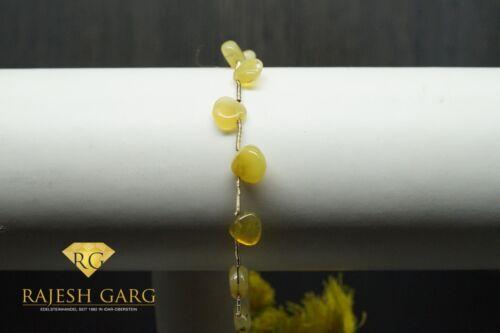 8 x 7,5 mm-aprox Opal Strang gotas de pulido o cierre-aprox cm 25 op-010 RG