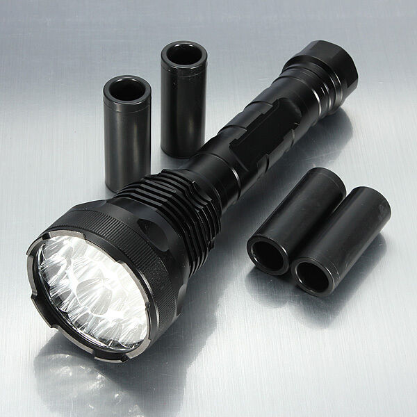 Nieuwe Military Grade Tactical FlashLicht LED XM-L Lumannens TC2000 TC1200 X800 Design