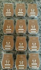LOT OF 12 SCENTSY BARS WEATHERED LEATHER~BROWN~FREE COLD PRIORITY SHIPPING
