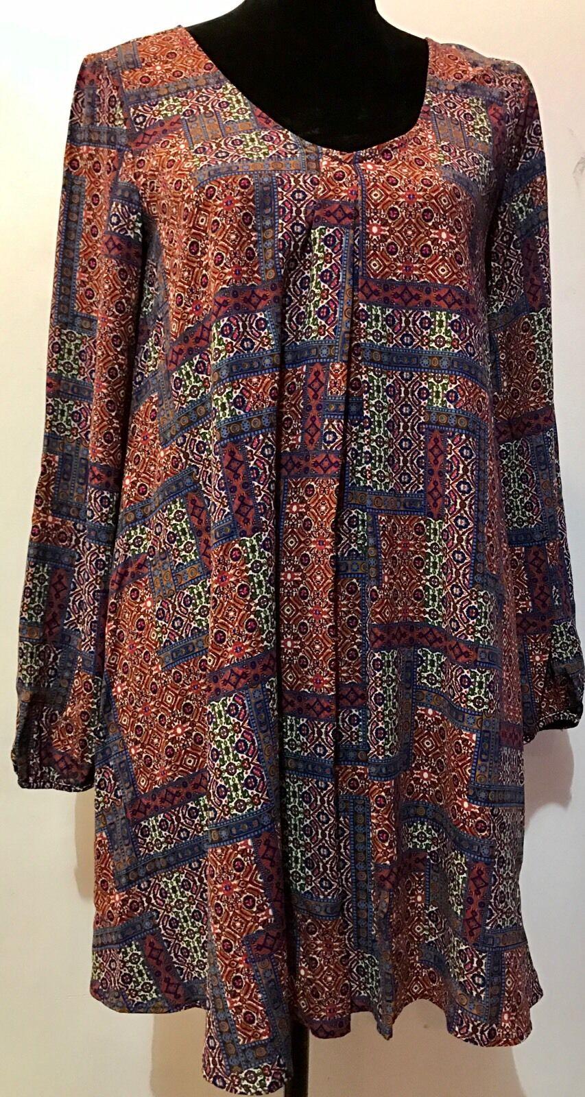 Soprano Bohemian Style Light Summer Sexy Dress Soprano  Size M