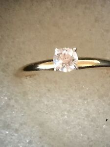 14ct-gold-25ct-Solitaire-natural-Diamond-ring
