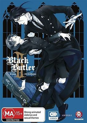 Black Butler II : Complete Season 2 (DVD, 2012, 3 x Disc Set) gf4