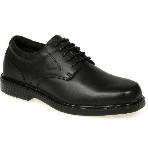 New Nunn Bush Arthur Men 10 Black Comfort Gel Dress Casual shoes Oxfords 8.5M