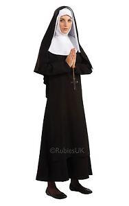 Mujer-Catolica-Monja-Disfraz-Mujer-Religioso-Disfraz-SISTER-ACT