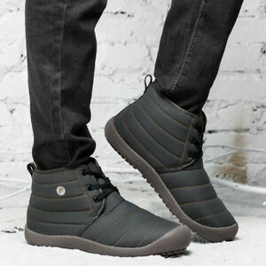 Men-039-s-Winter-Warm-Casual-Waterproof-Snow-Boots-Cotton-Inside-Shoes-Large-Size