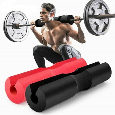 Barbell Pad Squat Bar Supports Weight Lifting Pull Up Neck Shoulder Protector